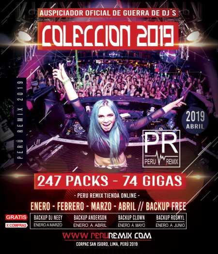 COLECCION-2019 - PERÚ REMIX