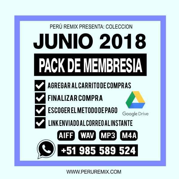 JUNIO 2018 MEMBRESIA