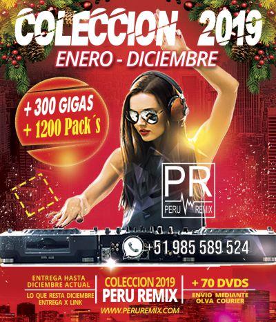coleccion 2019 - peru remix musica para dj